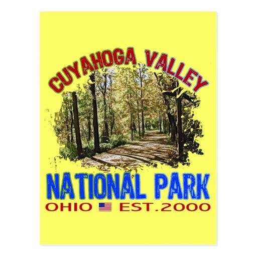 Cuyahoga Valley National Park, Ohio Postcard