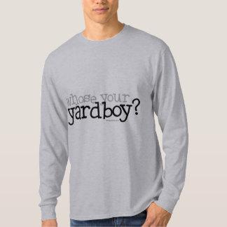 ¿Cuyo su Yardboy? Playera