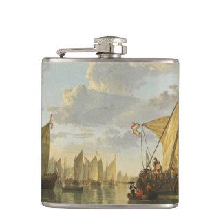 Cuyp's The Maas art flask