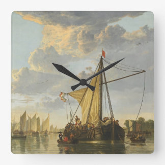 Cuyp's The Maas wall clock
