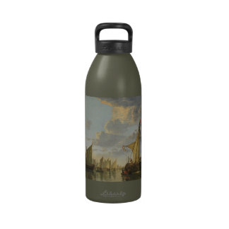 Cuyp's The Maas water bottle