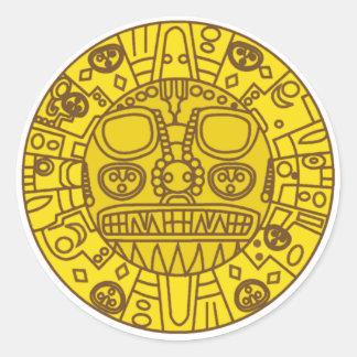 Cuzco Coat of Arms Classic Round Sticker
