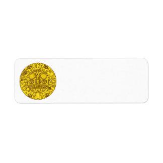 Cuzco Coat of Arms Return Address Label