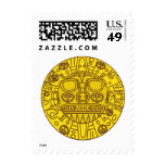Cuzco Coat of Arms Postage Stamp