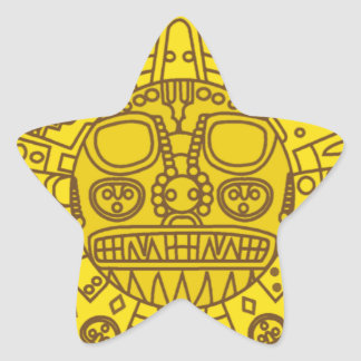 Cuzco Coat of Arms Star Sticker