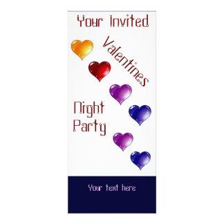 Cuztom Valentine party invites