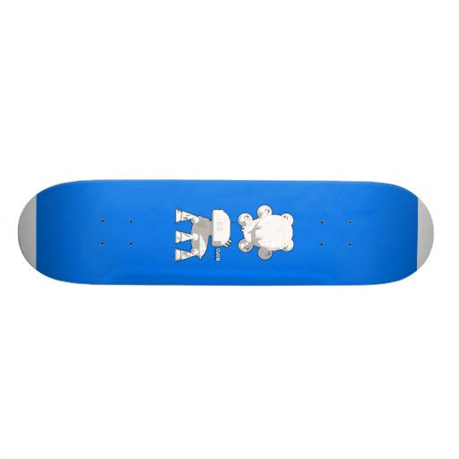 CV08_skate_blue Skateboard Deck