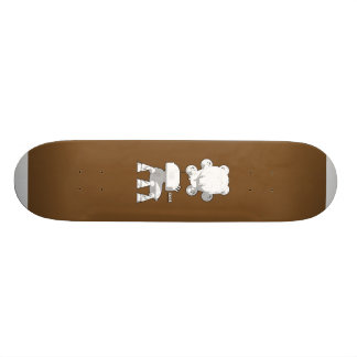 CV08_skate_brown Skateboard
