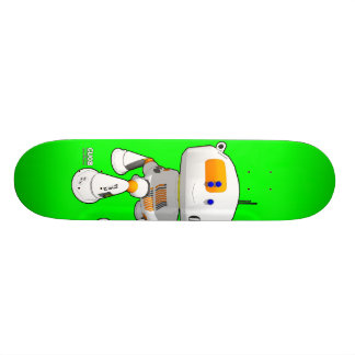 CV08 Skate Green Skateboard