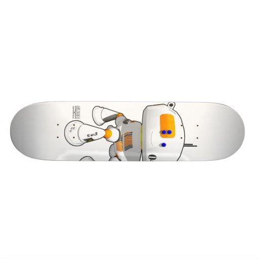 CV08 Skate White Skateboard Decks