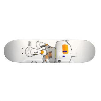 CV08 Skate White Skateboard Deck