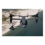 CV-22 Osprey and MH-53 Pave Low Print