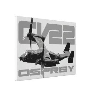 CV-22 OSPREY Wrapped Canvas