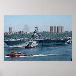 """CV-59 """"USS Forrestal"""", fossil fuel, New York, U.S. Print"""