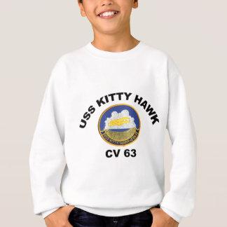 CV 63 USS Kitty Hawk Sweatshirt
