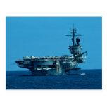 """CV-66 """"USS América"""" que desarma en 1996, severo Tarjeta Postal"""