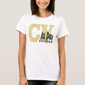 cv all day everyday T-Shirt