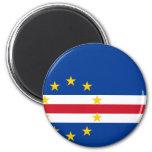 CV de la bandera de Cabo Verde Imán De Frigorífico