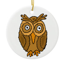 CV- Funny Owl Ornament