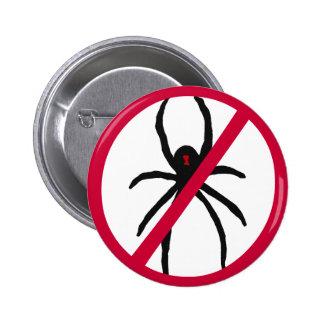 CV- No More Spiders Button