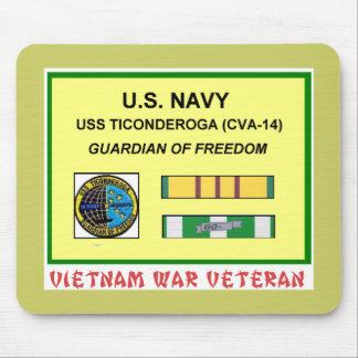 CVA-14 TICONDEROGA VIETNAM WAR VET MOUSE PAD
