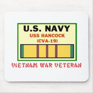 CVA-19 HANCOCK VIETNAM WAR VET MOUSE PAD