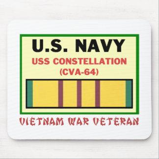 CVA-64 CONSTELLATION VIETNAM WAR VET MOUSE PAD