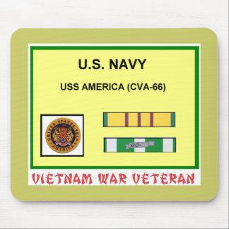 CVA-66 AMERICA VIETNAM WAR VET MOUSE PAD