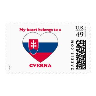 Cverna Postage Stamps
