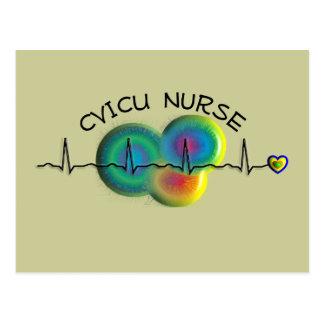 CVICU Nurse Gifts Postcard