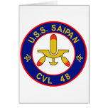 CVL-48 A USS SAIPAN Multi-Purpose Light Aircraft C Cards