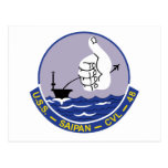 CVL-48 A USS SAIPAN Multi-Purpose Light Aircraft C Post Cards