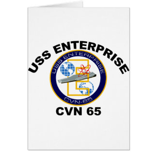 CVN-65 USS Enterprise Card