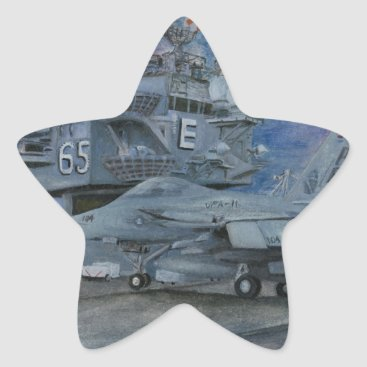 CVN-65 USS ENTERPRISE STAR STICKER