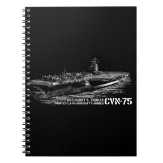 CVN-75 Harry S. Truman Photo Notebook (80 Pages B