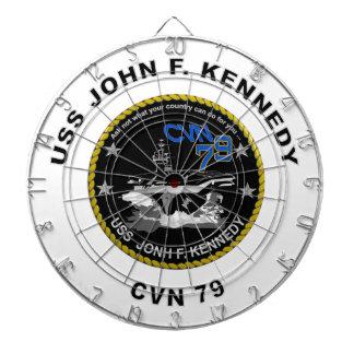 CVN-79 USS John Kennedy Dartboard