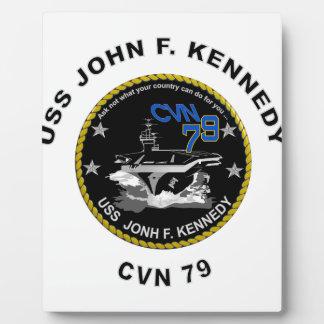 CVN-79 USS John Kennedy Plaque