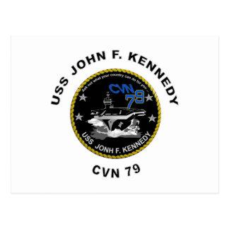 CVN-79 USS John Kennedy Postcard
