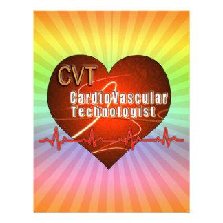 CVT HEART LOGO Cardiovascular Technologist Letterhead