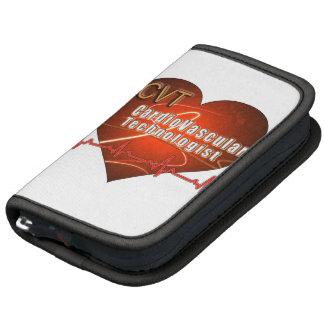 CVT HEART LOGO Cardiovascular Technologist Folio Planner
