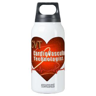 CVT HEART LOGO Cardiovascular Technologist 10 Oz Insulated SIGG Thermos Water Bottle