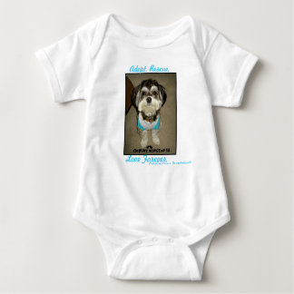 """CW3 """"Adopt, Rescue, Love Forever"""" Baby Tee"""