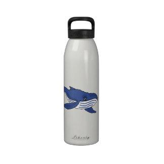 CW- Blue Whale Water Bottle