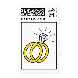 CW Designs Wedding Ring Postage