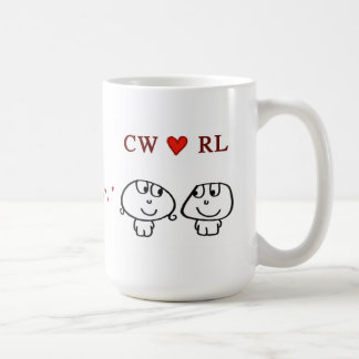 CW heart RL Mugs