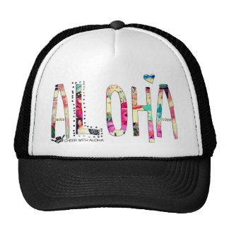 CWA ALOHA COLLAGE Trucker Hats