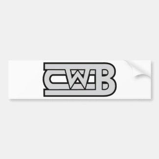 cwb[1]logo bumper sticker