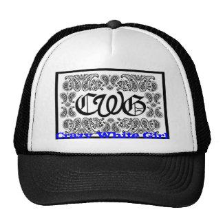 cwg Crazy White Girl Trucker Hats