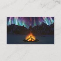 Cwm Aurora Bookmarks Business Card