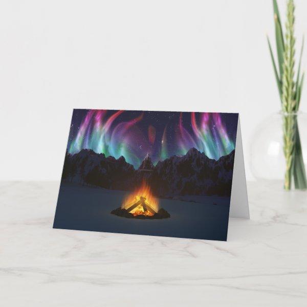 Cwm Aurora Card